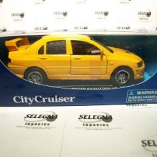 Coches a escala: MITSUBISHI LANCER EVOLUTION VII ESCALA 1/32 NEW RAY COCHE METAL MINIATURA. Lote 146129024
