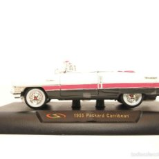 Coches a escala: PACKARD CARRIBEAN 1955 ESCALA 1/32 NEW RAY COCHE METAL MINIATURA. Lote 56941199