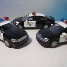Coches a escala: LOTE 3 COCHES DE LA POLICIA AMERICANA NUEVOS EN CAJA ESCALA 1:32. Lote 58846666