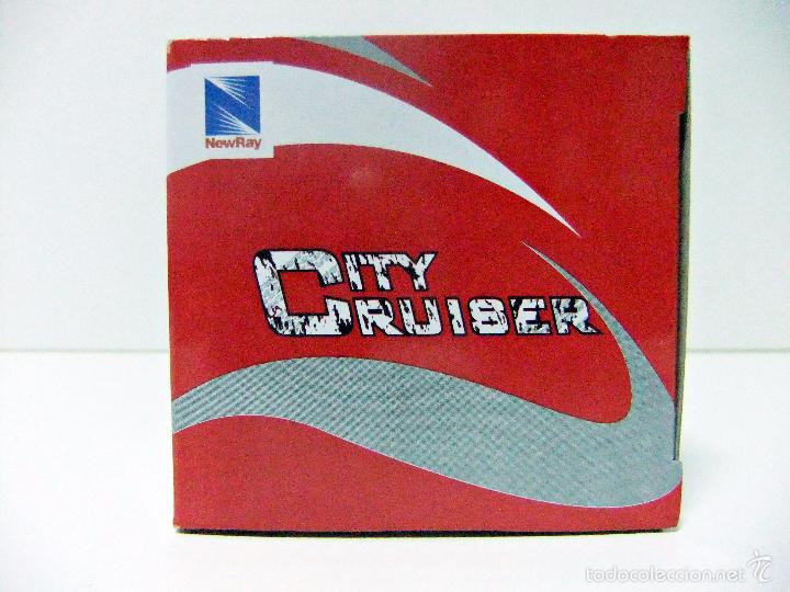 Coches a escala: MINI COOPER BANDERA BRITÁNICA UNION JACK - NEWRAY CITY CRUISER - ESCALA 1:32 - COCHE AUTO NEW RAY - Foto 7 - 61421919