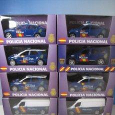 Coches a escala: LOTE DE 8 VEHICULOS DE LA POLICIA NACIONAL-CPN- NUEVOS EN CAJA ESCALA 1:32. Lote 64105751