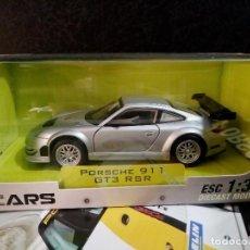 Coches a escala: PORSCHE 911 GT3 RSR 2007 ESCALA 1/32 GRANDES AUTOS DEPORTIVOS COLOMBIA . Lote 67605949