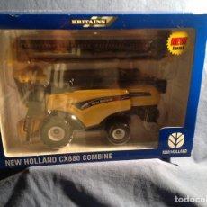 Coches a escala: REBAJADO!!!NEW HOLLAND CX 880 COMBINE,COSECHADORA. BRITAINS,NUEVO,!!!!. Lote 78695769