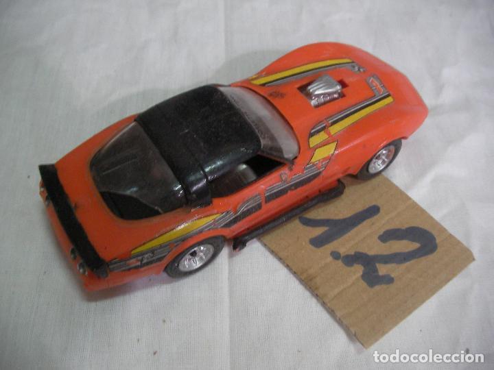 Coches a escala: ANTIGUA MAQUETA COCHE DEPORTIVO ESCALA 1/32 PLASTICO DURO - Foto 2 - 83607504