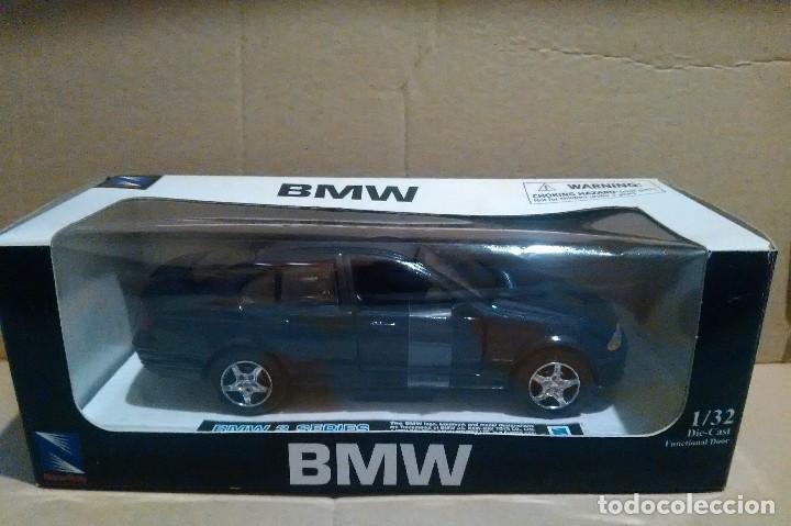 COCHE BMW 3 SERIES COLOR AZUL A ESTRENAR NEWRAY ESCALA 1/32 (Juguetes - Coches a Escala 1:32)