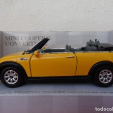 Coches a escala: MINI COOPER CONVERTIBLE. Lote 102464127