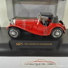 Coches a escala: JAGUAR SS-100 ROADSTER 1939 SIGNATURE MODELS ESCALA 1:32. Lote 117740711