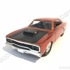 Coches a escala: PLYMOUTH ROAD RUNNER FAST & FURIOUS 1:32 - FASTANDFURIOUS , PELÍCULA, TV, DOM , CINE, CARRERAS,1970. Lote 118560827