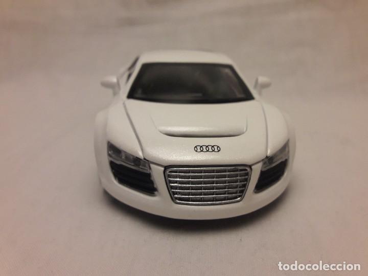 Coches a escala: Coche Audi R8 blanco Miniauto - Foto 2 - 120529503