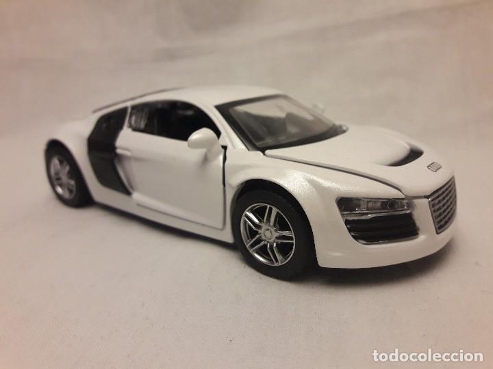 Coches a escala: Coche Audi R8 blanco Miniauto - Foto 3 - 120529503