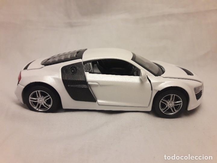 Coches a escala: Coche Audi R8 blanco Miniauto - Foto 4 - 120529503