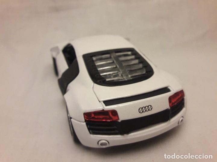 Coches a escala: Coche Audi R8 blanco Miniauto - Foto 5 - 120529503
