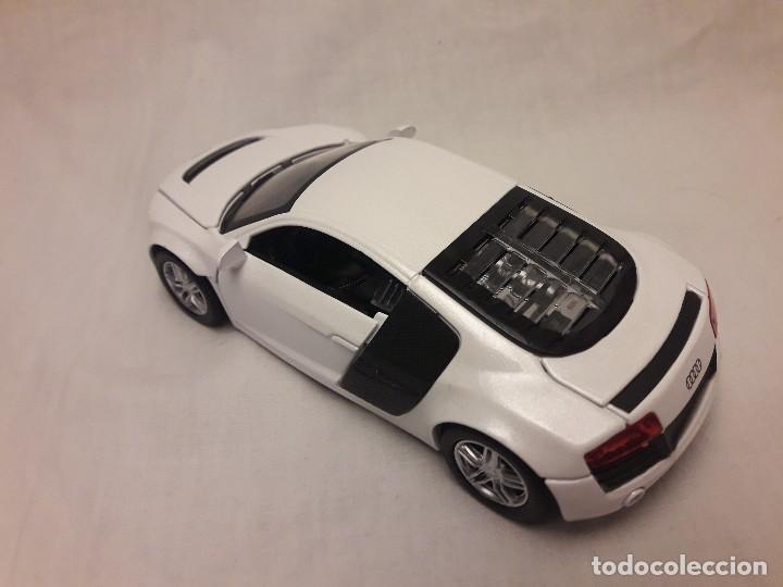 Coches a escala: Coche Audi R8 blanco Miniauto - Foto 6 - 120529503