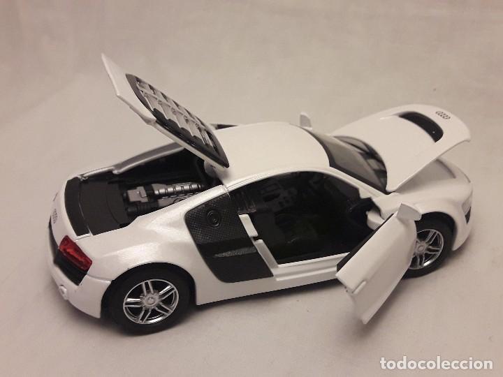 Coches a escala: Coche Audi R8 blanco Miniauto - Foto 10 - 120529503