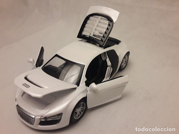 Coches a escala: Coche Audi R8 blanco Miniauto - Foto 11 - 120529503
