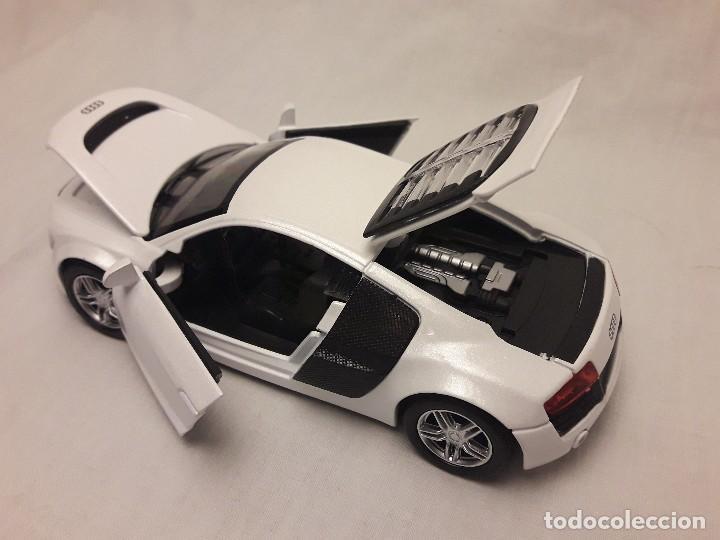 Coches a escala: Coche Audi R8 blanco Miniauto - Foto 12 - 120529503