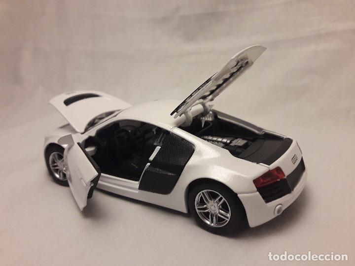 Coches a escala: Coche Audi R8 blanco Miniauto - Foto 13 - 120529503