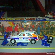 Auto in scala: COCHE ESCALA 1:32 LANCIA INTEGRALE 16V CARLOS SAINZ AÑO 92 A ESTRENAR DE LA CASA GUISVAL*. Lote 46323342