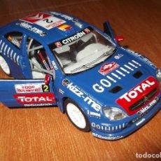 Coches a escala: CITROEN XSARA WRC BURAGO. Lote 125296483