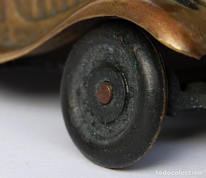 Coches a escala: ANTIGUO COCHE DE COLECCIÓN CITROEN 15 SEIS CILINDROS MARCA FAL CARROCERIA DE FUNDICIÓN EN BRONCE - Foto 10 - 150579754