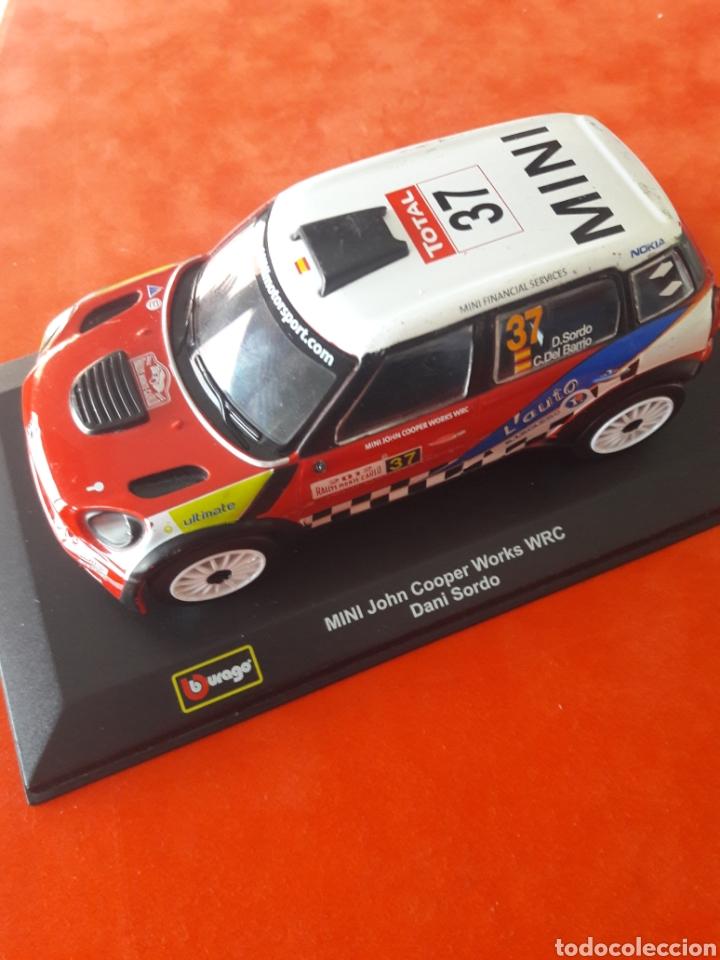 MINI JOHN COOPER WORKS WRC DANI SORDO (Juguetes - Coches a Escala 1:32)