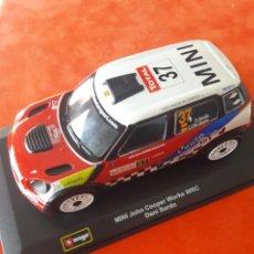 Coches a escala: MINI JOHN COOPER WORKS WRC DANI SORDO. Lote 154384538