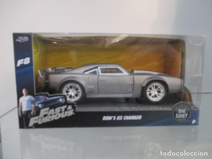 COCHE FAST AND FURIOUS 8 - DOM'S ICE CHARGER - DODGE CAR ESCALA 1:32 NUEVO (Juguetes - Coches a Escala 1:32)