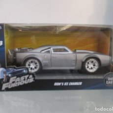 Coches a escala: COCHE FAST AND FURIOUS 8 - DOM'S ICE CHARGER - DODGE CAR ESCALA 1:32 NUEVO. Lote 169006436