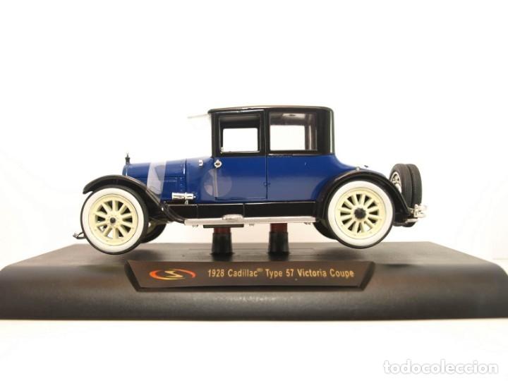 Coches a escala: Cadillac Type 57 Victoria Coupe 1928 escala 1/32 Signature models coche metal miniatura - Foto 2 - 56941198
