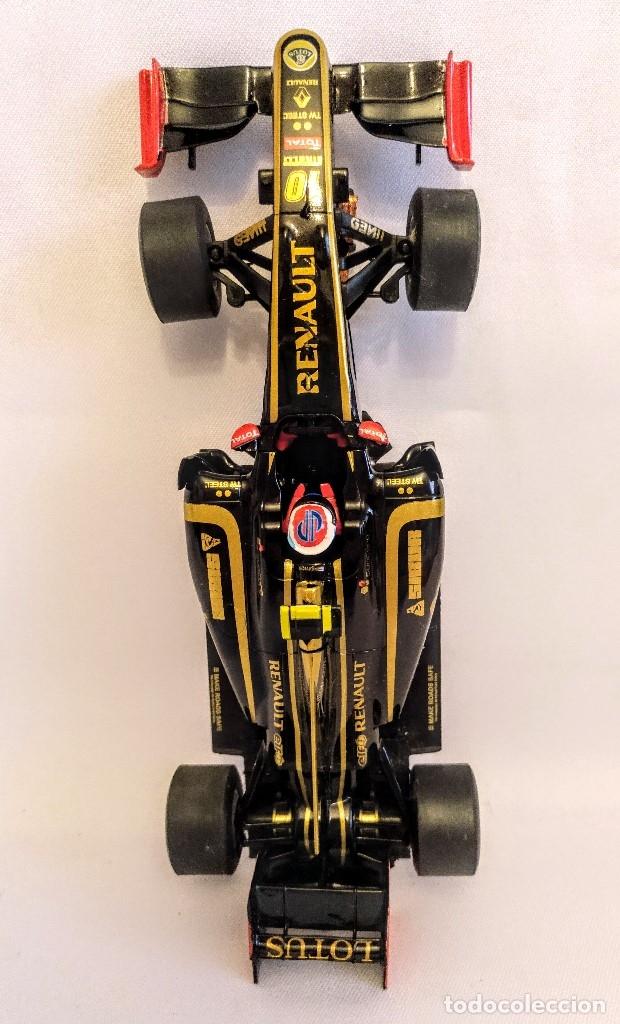 Coches a escala: Coche de scalextric Renault Lotus GP en caja expositora - Foto 2 - 174098828