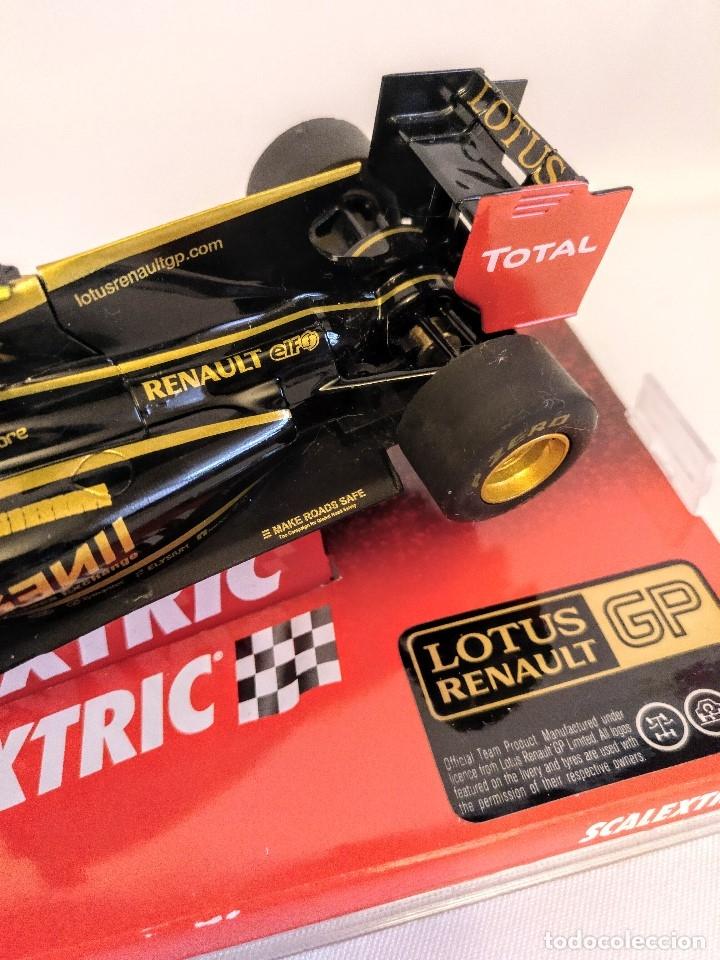Coches a escala: Coche de scalextric Renault Lotus GP en caja expositora - Foto 3 - 174098828