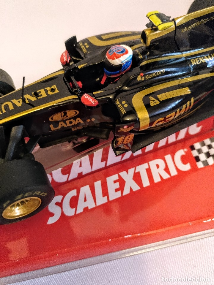 Coches a escala: Coche de scalextric Renault Lotus GP en caja expositora - Foto 4 - 174098828