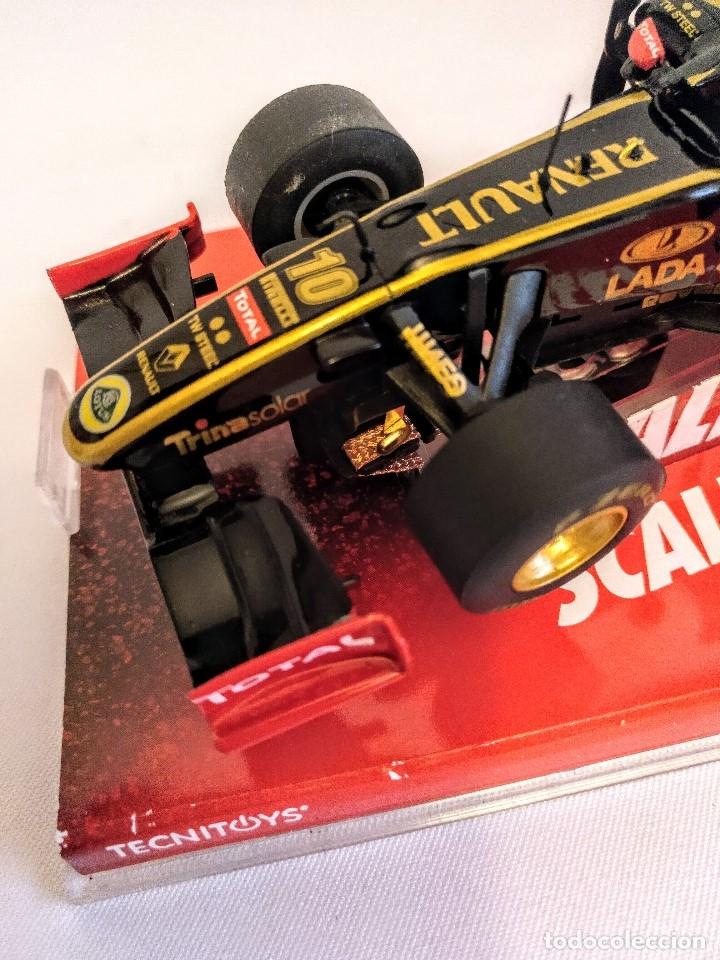 Coches a escala: Coche de scalextric Renault Lotus GP en caja expositora - Foto 5 - 174098828