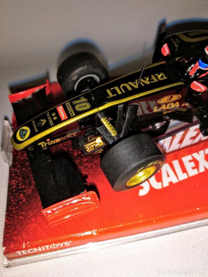 Coches a escala: Coche de scalextric Renault Lotus GP en caja expositora - Foto 9 - 174098828