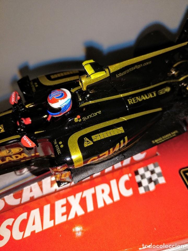Coches a escala: Coche de scalextric Renault Lotus GP en caja expositora - Foto 10 - 174098828