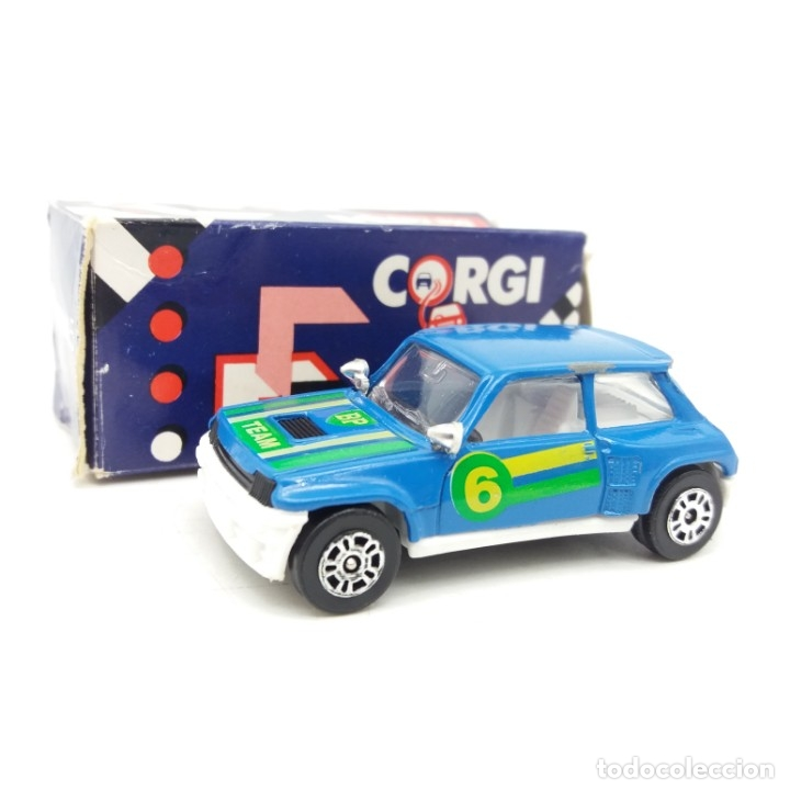RENAULT 5 TURBO BP DE CORGI (Juguetes - Coches a Escala 1:32)