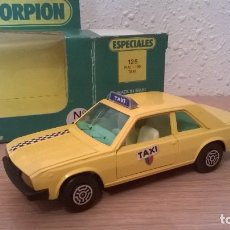 Coches a escala: GUISVAL FIAT 130 TAXI . Lote 177508874