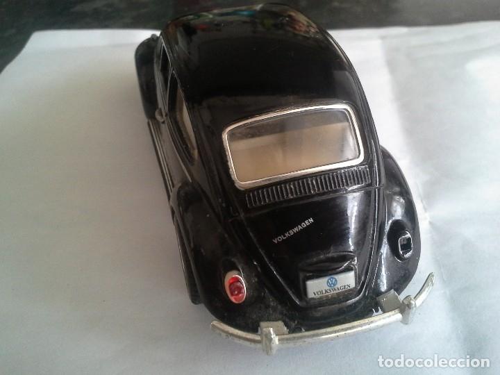 Coches a escala: volkswagen classical beatle 1967 .kinsmart , escarabajo, 1/32 coche - Foto 5 - 180902393
