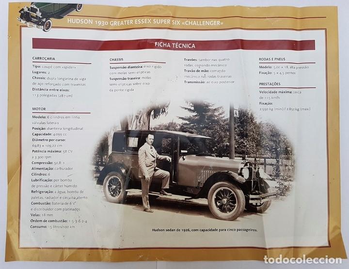 Coches a escala: HUDSON 1930 COCHE COLECCIONABLE RBA HUDSON 1930 ESCALA 1/32 PORTUGAL - Foto 11 - 182151921