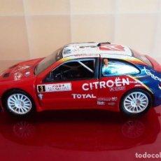 Coches a escala: CITROEN XSARA WRC SAICO COCHE A ESCALA 1/32. Lote 184434448