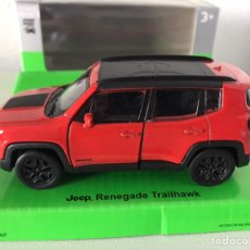 Coches a escala: PRECIOSO COCHE JEEP RENEGADE WELLY 1:32. Lote 184940685