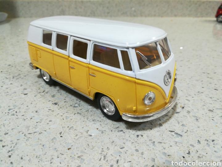 KINSMART KT5060. VOLKSWAGEN T2 CLASSIC BUS 1962. RETROFRICCIÓN (Juguetes - Coches a Escala 1:32)