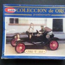 Coches a escala: REVELL FORD T 1910 COLECCIÓN DE ORO 30 ANIVERSARIO. Lote 280129403