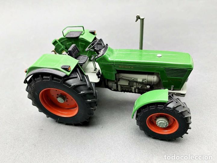 Coches a escala: Tractor Deutz 130 4x4 Weise Toys Escala 1:32 - Foto 2 - 191259011