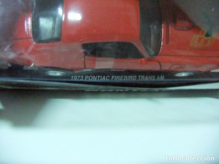 Coches a escala: 1973 PONTIAC FIREBIRD TRANS AM - NEWRAY ESCALA 1:32 - COCHE JUGUETE AMERICAN CAR NEW RAY BULLYCAN - Foto 4 - 191521970