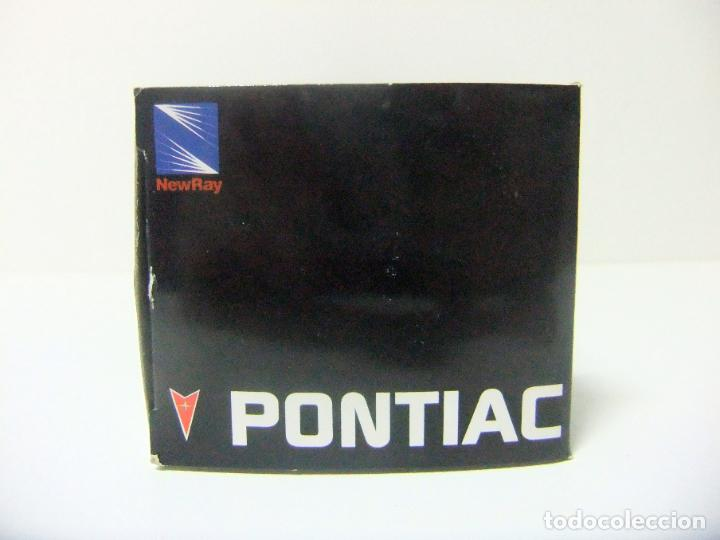 Coches a escala: 1973 PONTIAC FIREBIRD TRANS AM - NEWRAY ESCALA 1:32 - COCHE JUGUETE AMERICAN CAR NEW RAY BULLYCAN - Foto 6 - 191521970