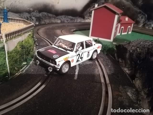SCALEXTRIC SEAT 124 RALLY (Juguetes - Coches a Escala 1:32)