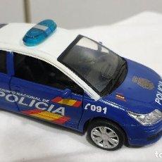 Coches a escala: NEW RAY CITROEN C4 COUPE / CUERPO NACIONAL DE POLICIA. - NEWRAY VEHICULO METAL. Lote 198243355