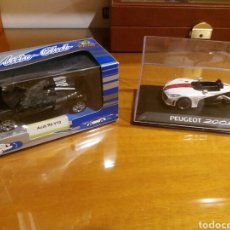 Coches a escala: AUDI R8 PEUGEOT 20CUP 1/36. Lote 198509860