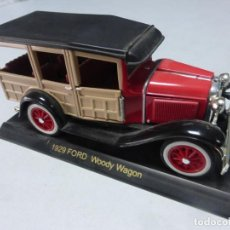 Coches a escala: 1929 FORD WOODY WAGON . ESCALA 1.32 . BUEN ESTADO . Lote 202393086
